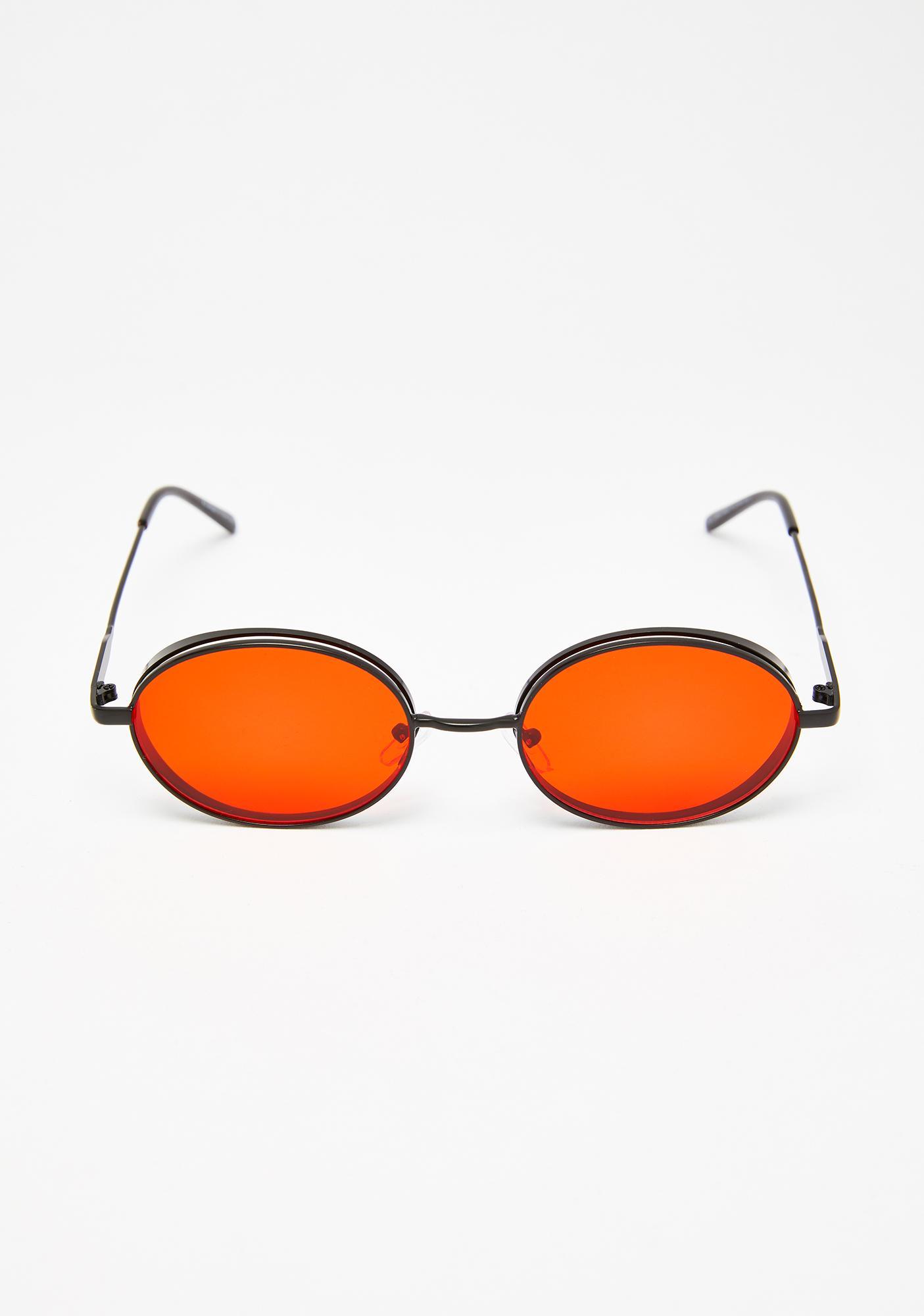 Hell Freak Oval Sunglasses