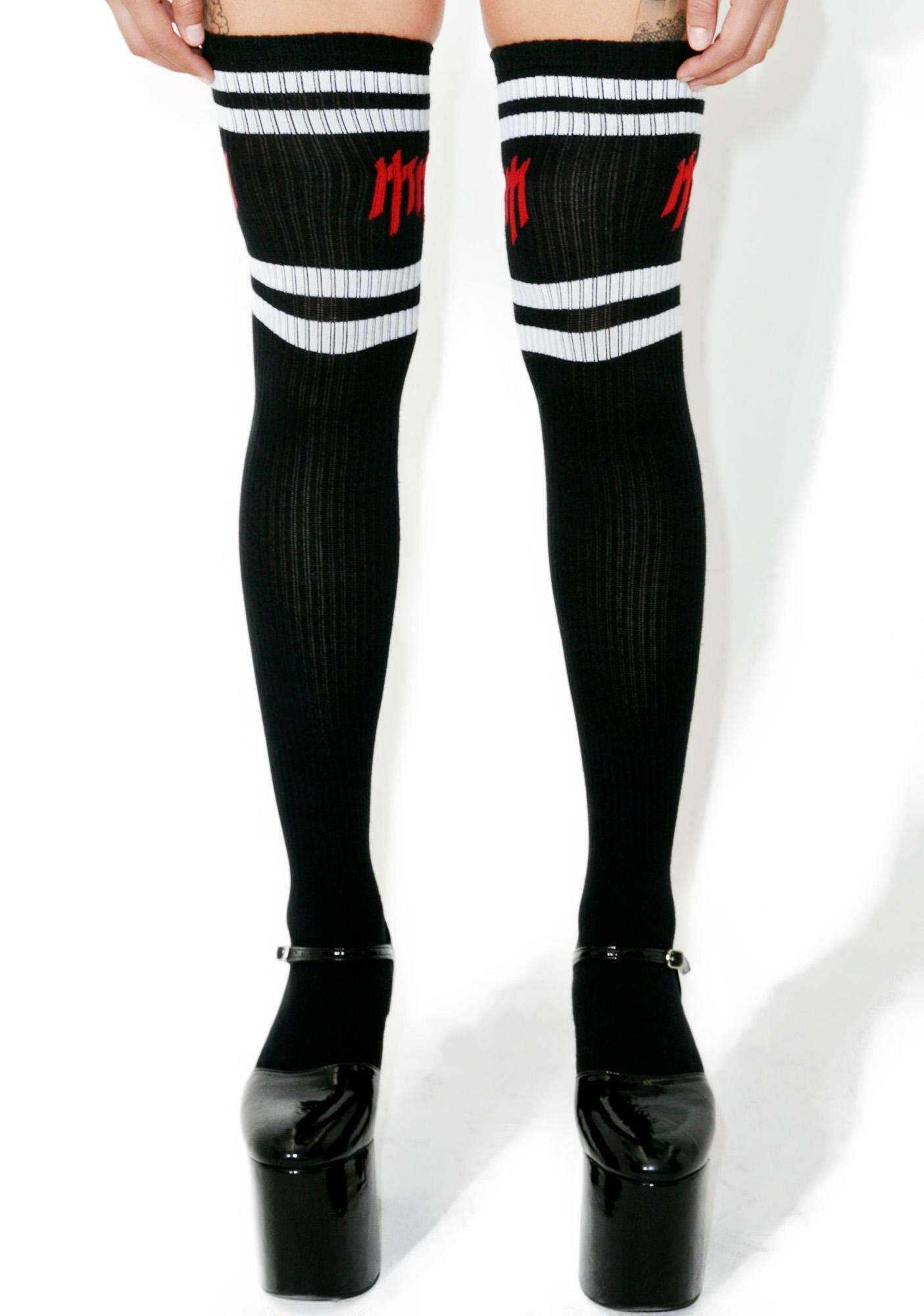 Killstar Golden Age Teamplay Long Socks