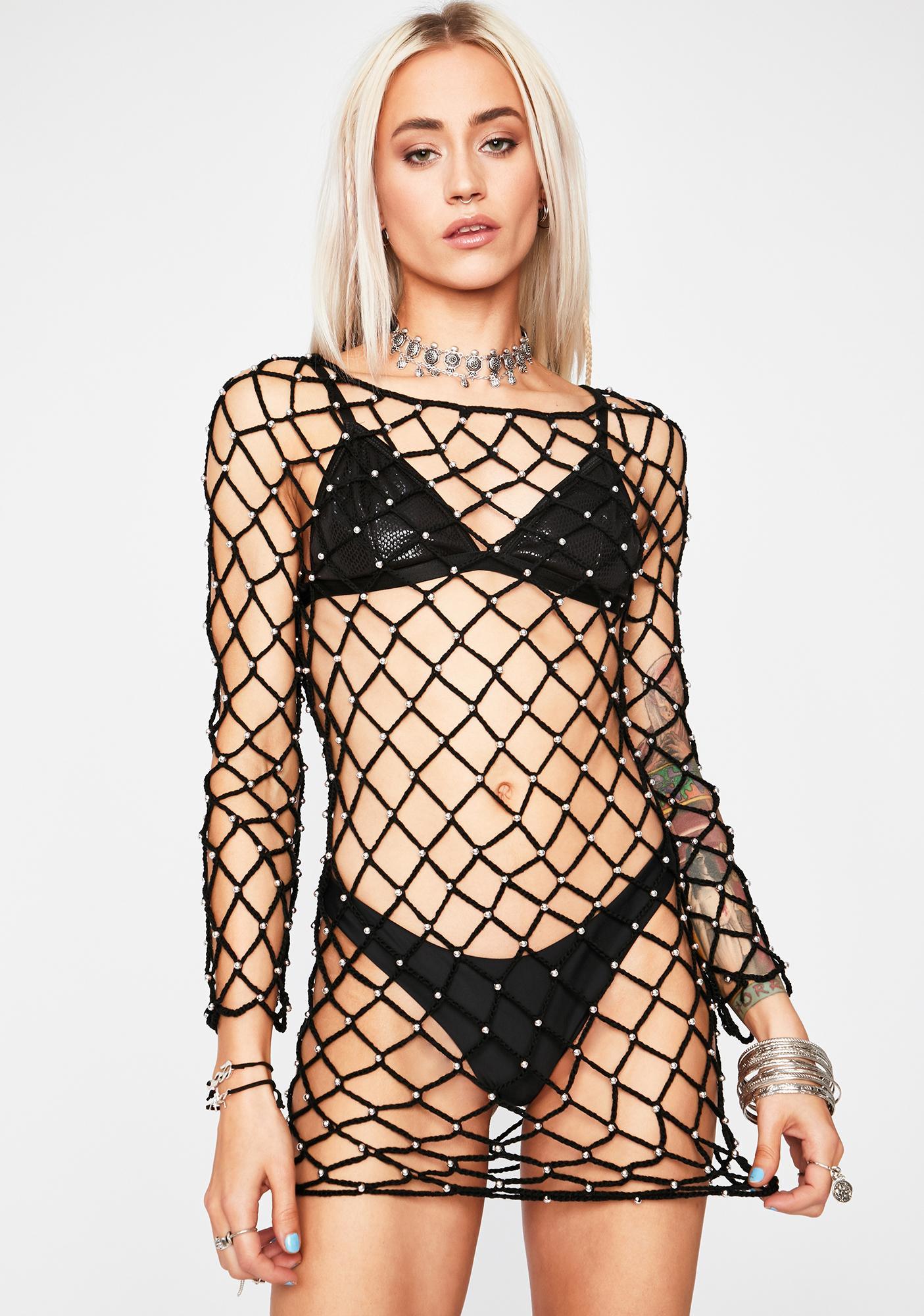 Desert Drifter Fishnet Dress