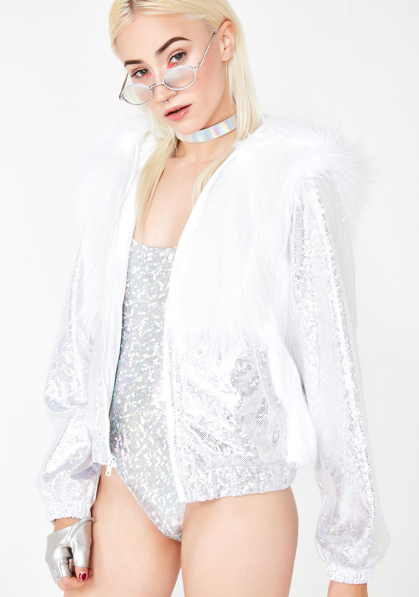 J Valentine Cosmic Archangel Light Up Coat