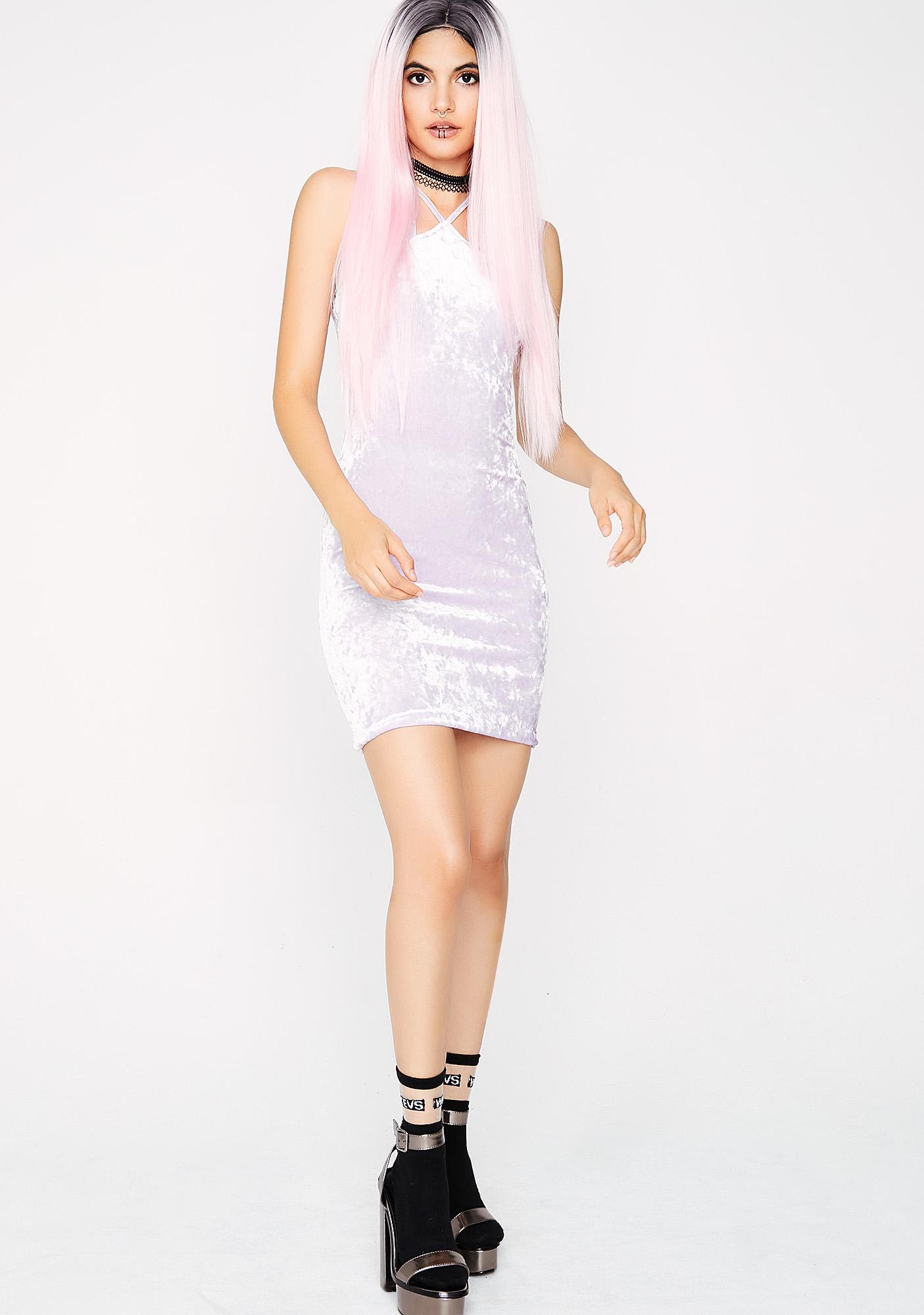 Daydreamin' Velvet Dress