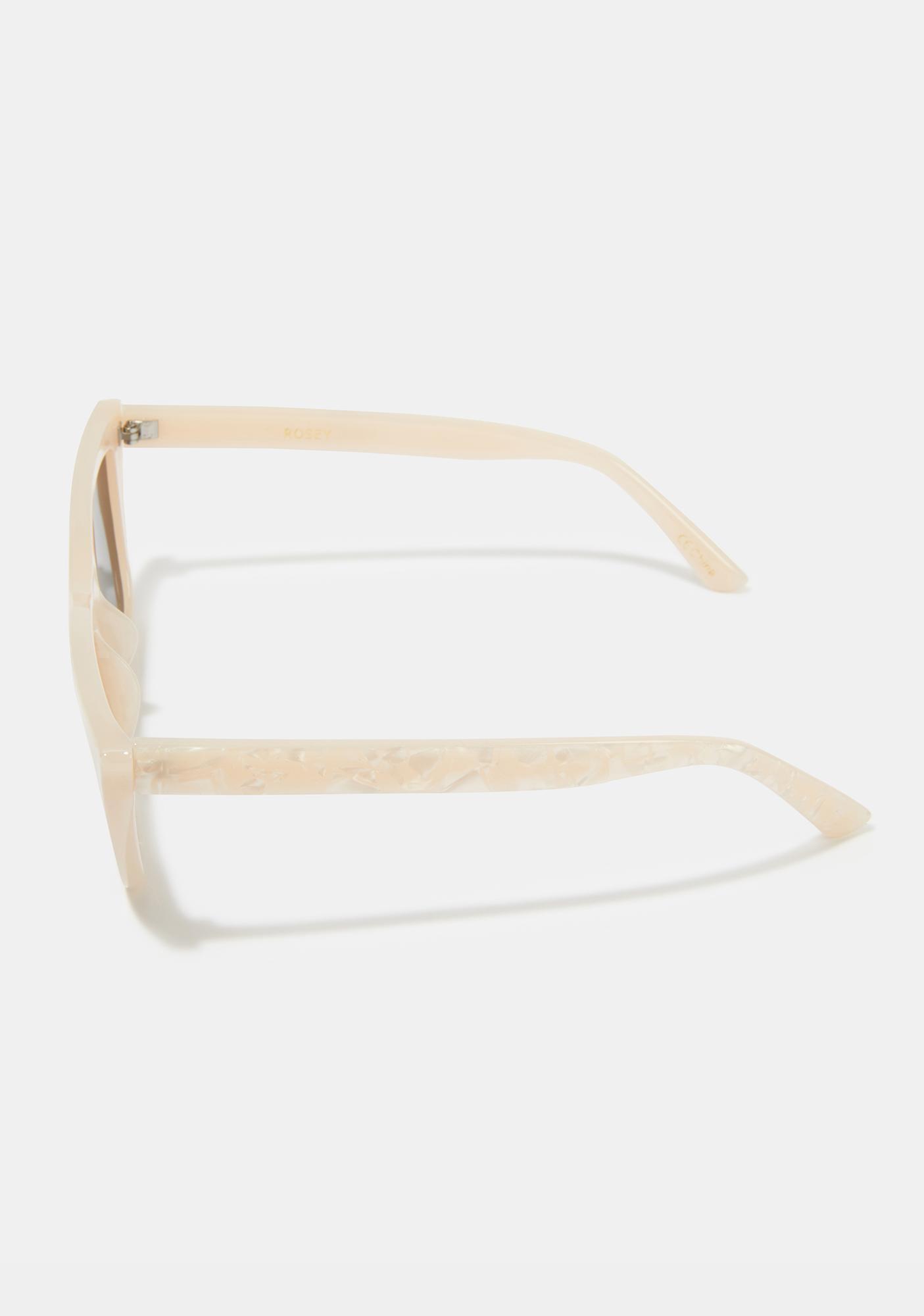 I-SEA Rose Pearl Cat Eye Sunglasses