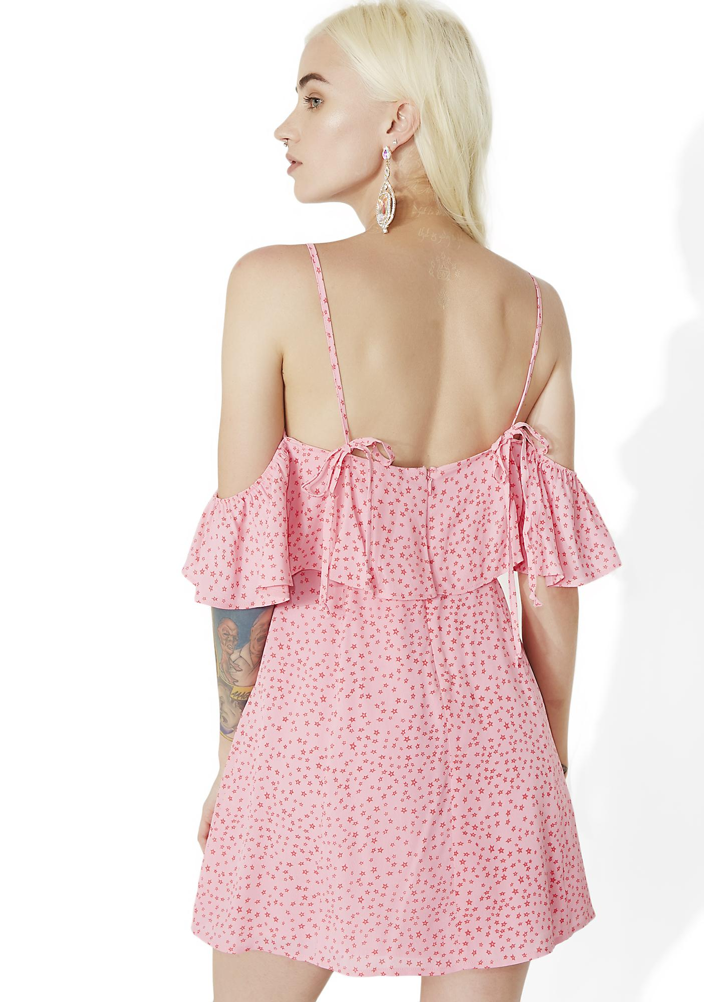 For Love & Lemons Aurora Ruffle Dress
