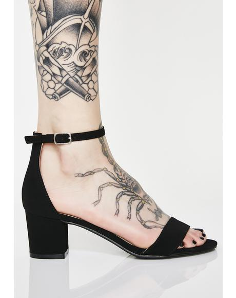 Law Of Attraction Block Sandals