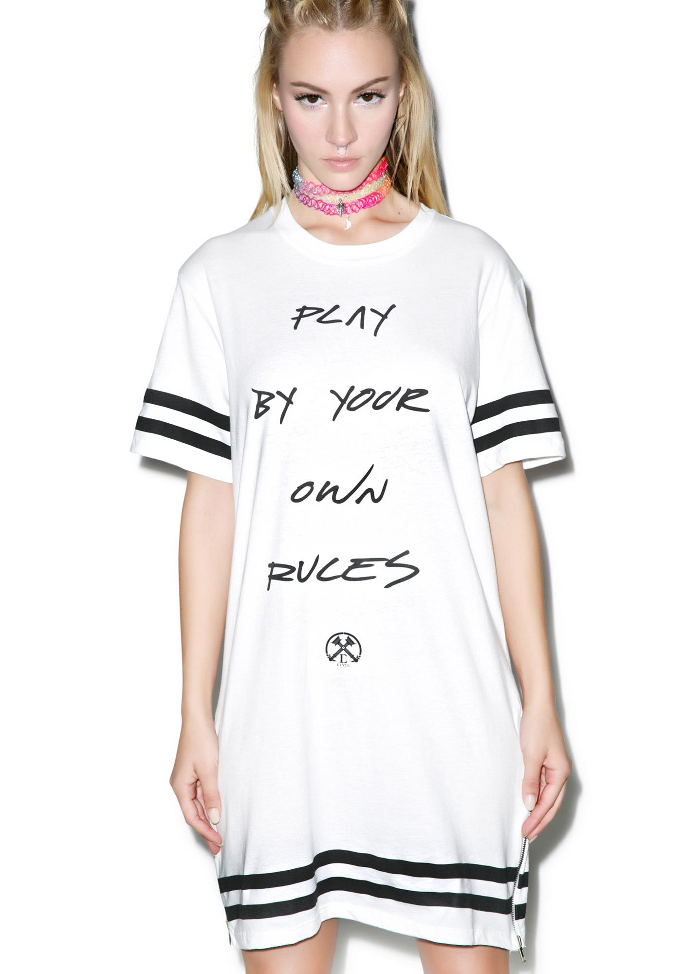Civil Clothing Your Own Rules Long Tee