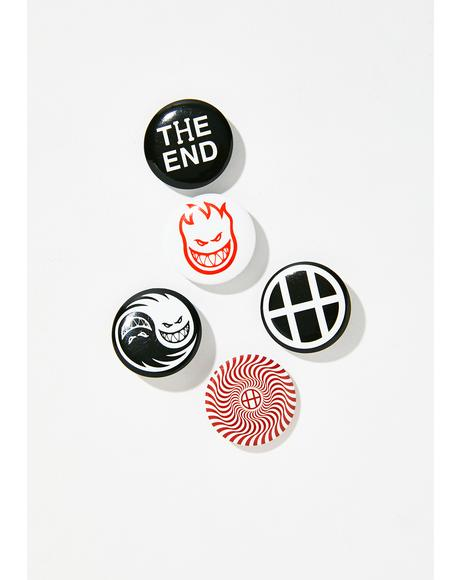 Spitfire Button Pack