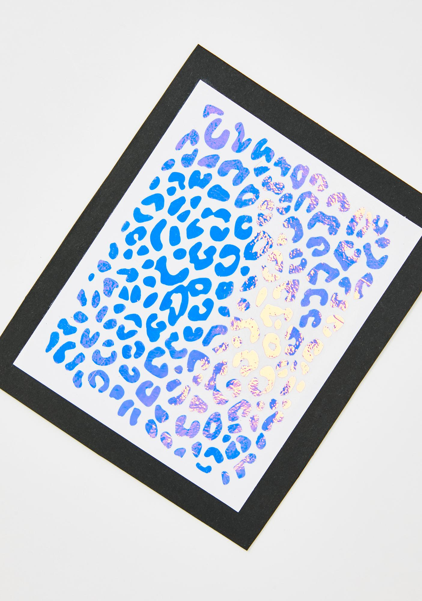 Stinnys Cheetah Print Body N' Face Stickers