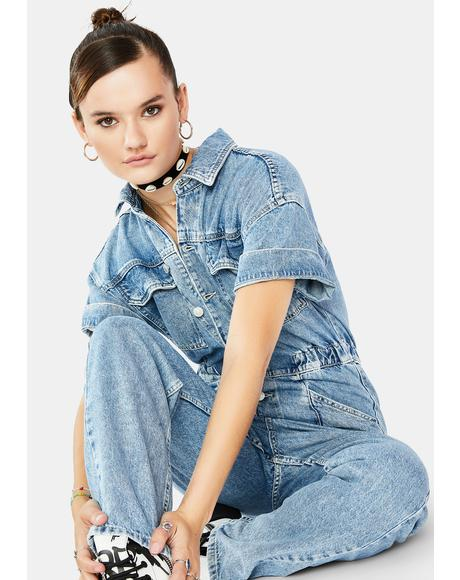 Marci Denim Jumpsuit