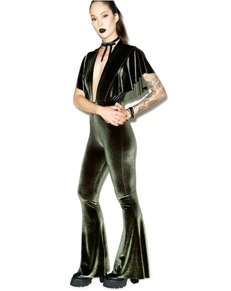 Penny Velvet Jumpsuit