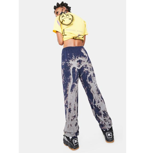 Marsanne Brands Smiley Dyed Sweatpants