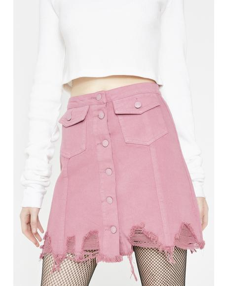 Steal Our Love Mini Skirt