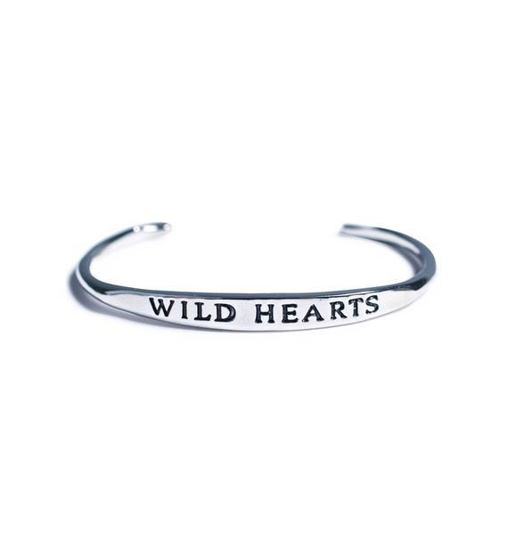 Wild Hearts Bangle