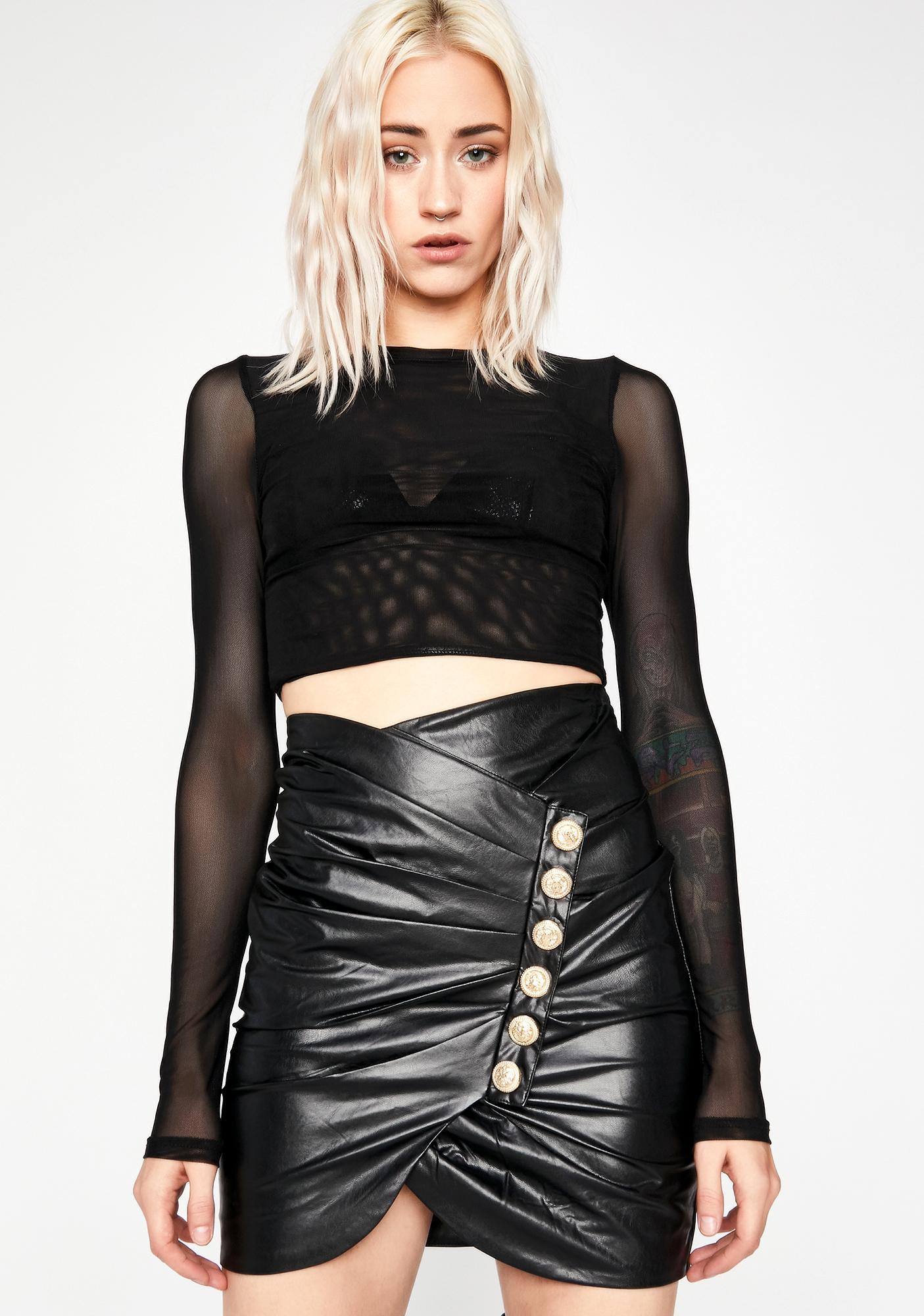 Improper Socialite Mini Skirt
