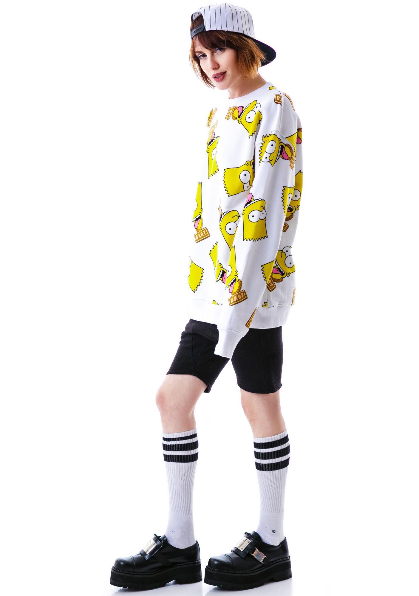 Joyrich Bart Face Crew Sweatshirt