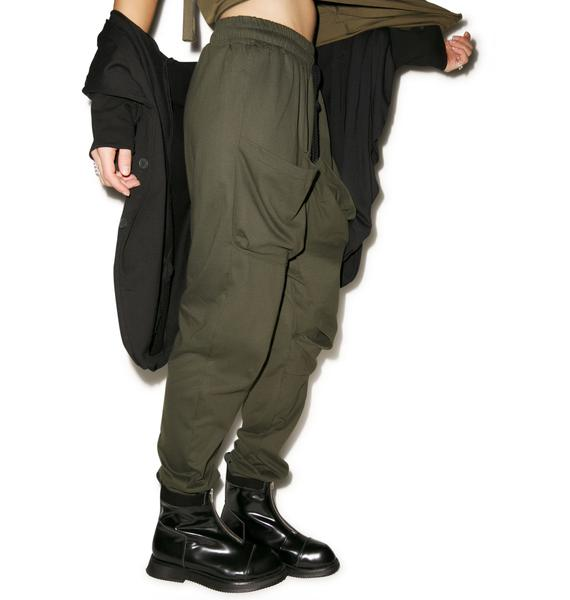 MNML Band of Brothers Drop Crotch Pants