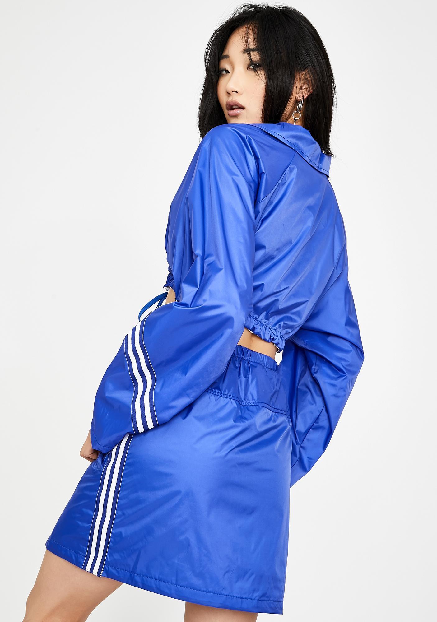 Rojas Berry Chaotic Mini Skirt