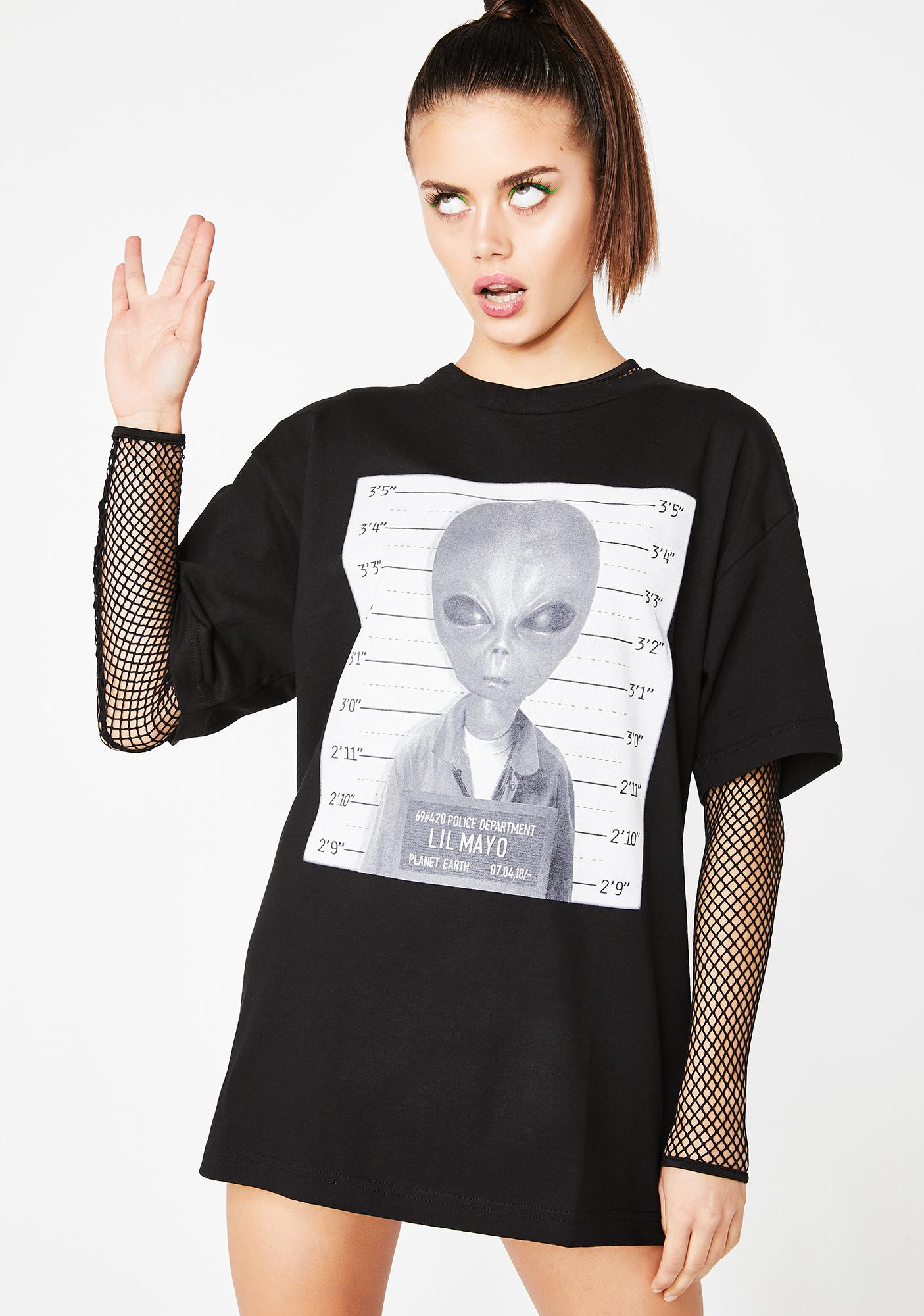 SUCC INTERNATIONAL Lil Mayo Mugshot Tee
