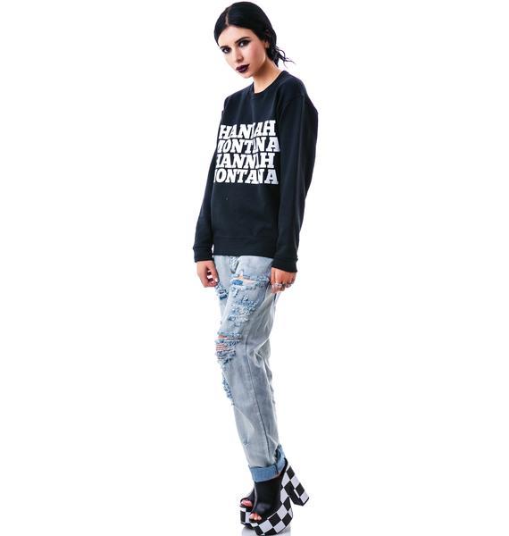 Private Party Hannah Montana Sweatshirt