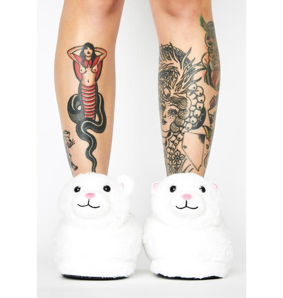 Breaking Mews Cat Slippers