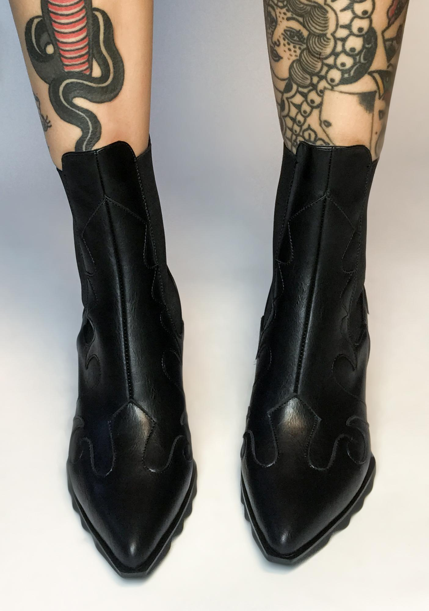Lamoda True Cowgirl Ankle Boots