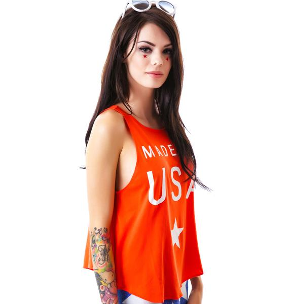Wildfox Couture Made In The USA Cassidy Tank