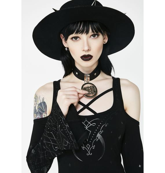 Killstar Witch Bitch Choker