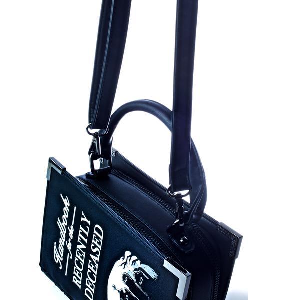 Killstar Dee Ceased Book Handbag