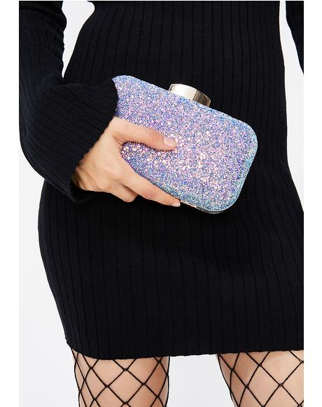 Secret Potion Sparkly Clutch