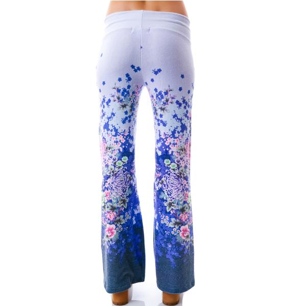Wildfox Couture Electric Kimino Baggy Beach Pants