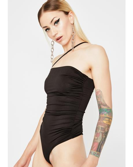 Slay Talent Ruched Bodysuit