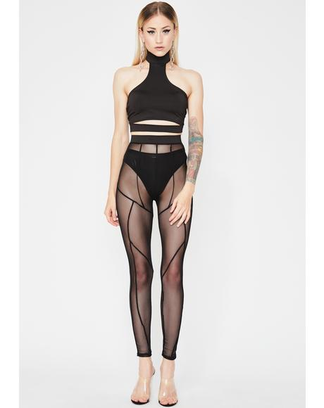 Fashion Chaos Sheer Set