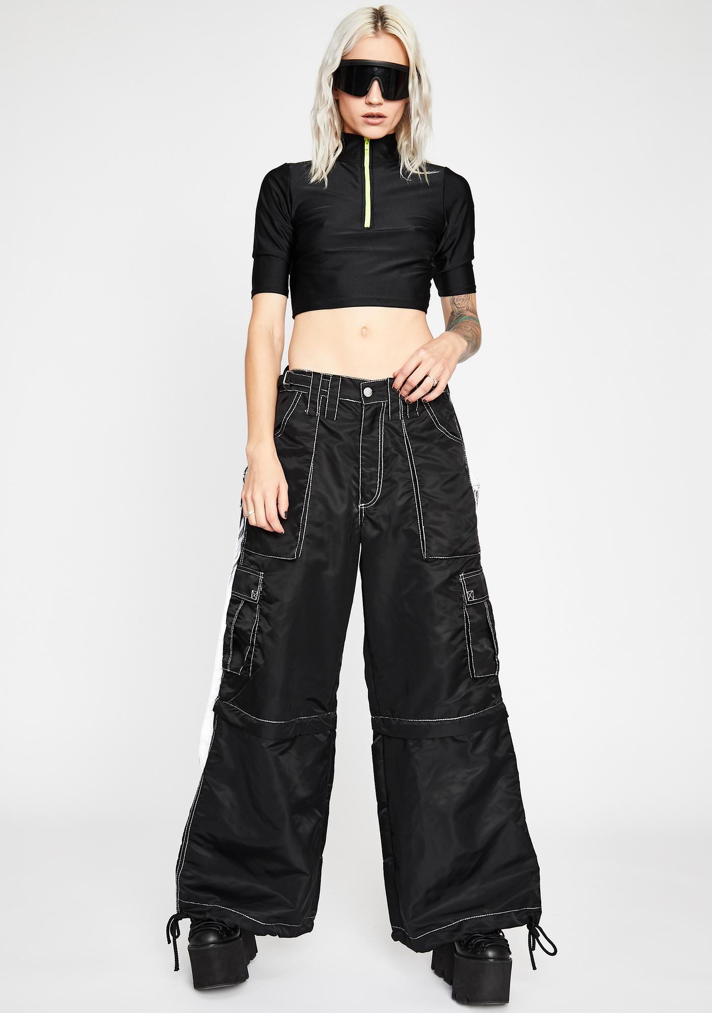 Down To Ride Crop Top
