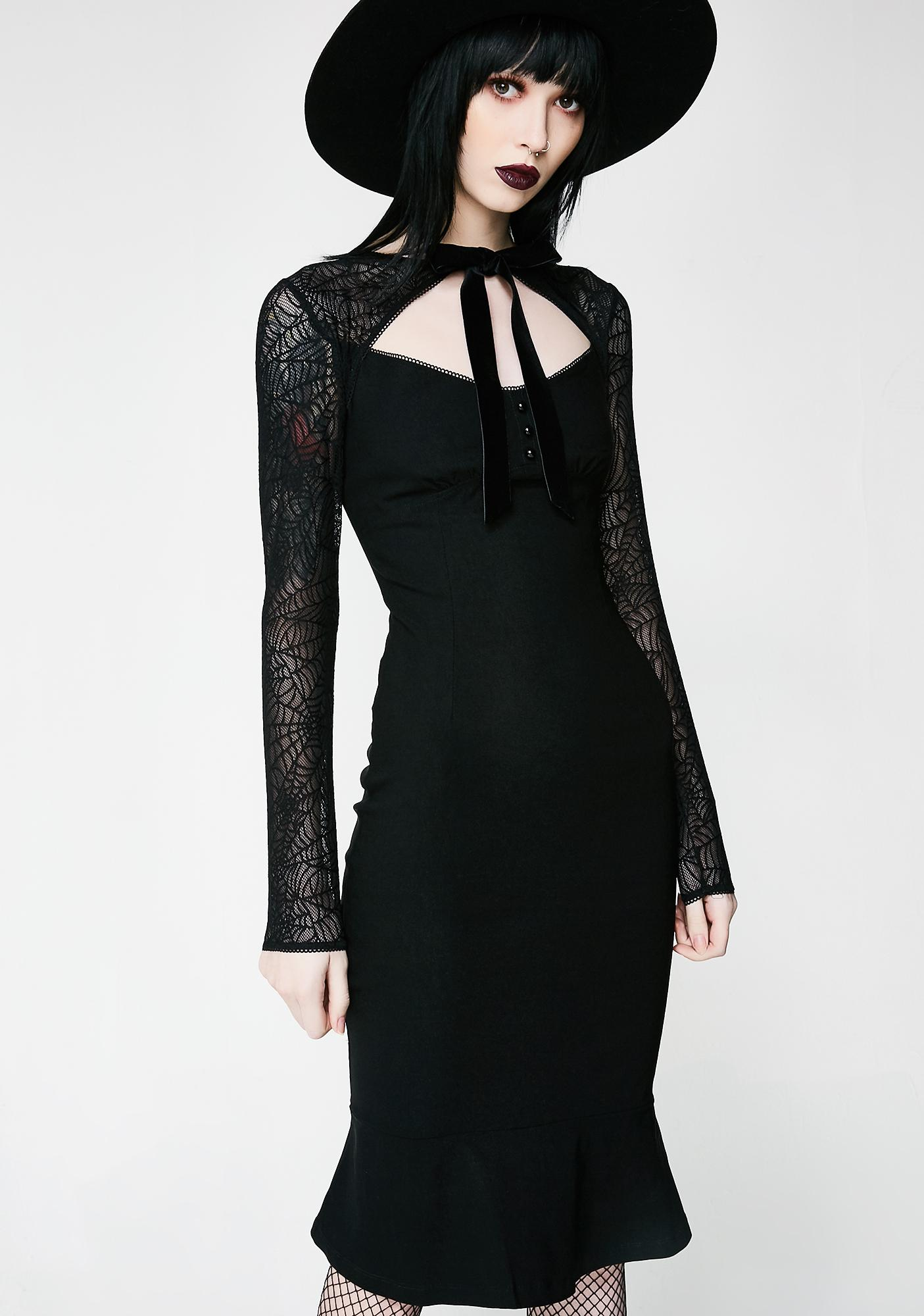 Killstar Bat To The Bone Dress