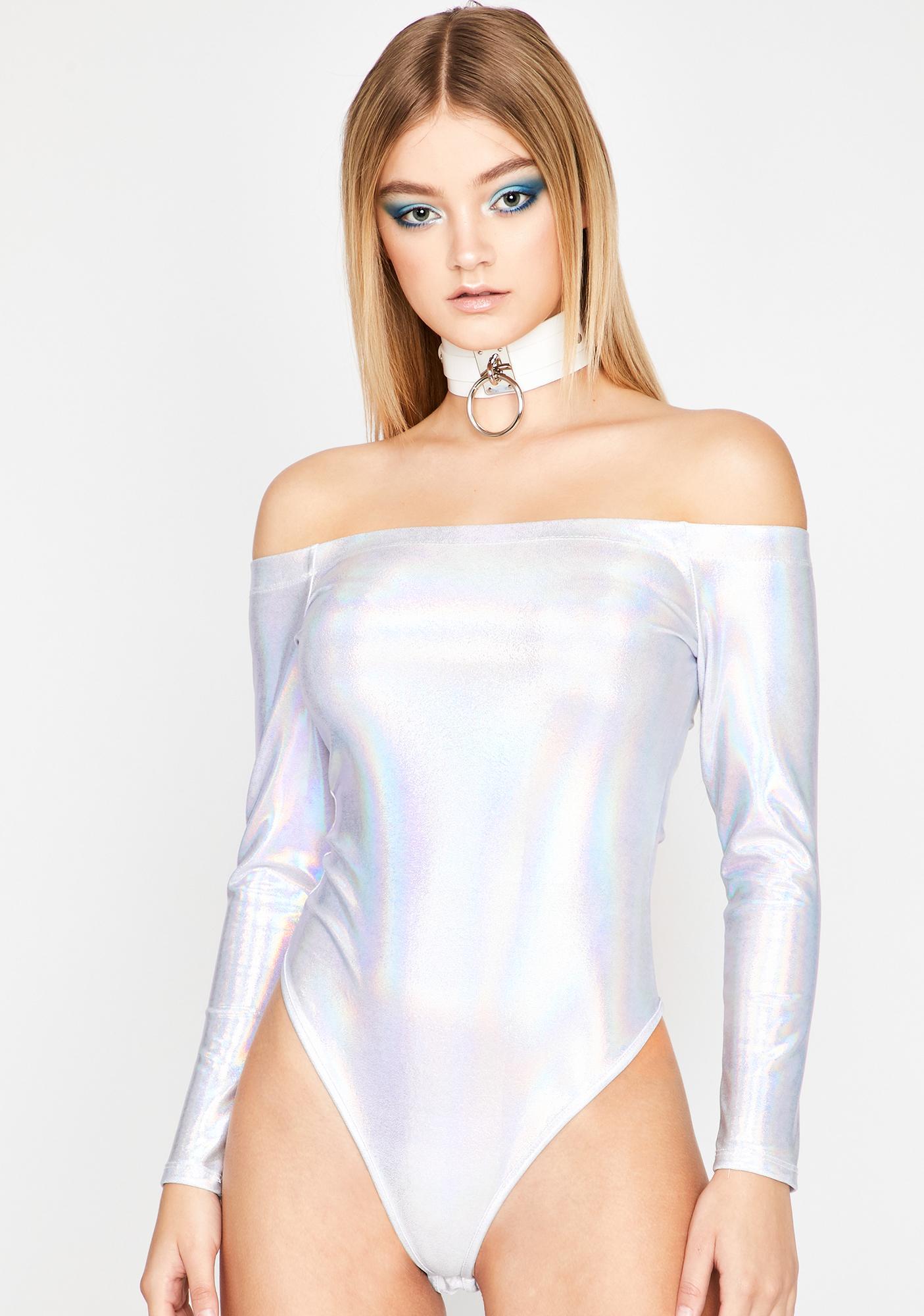Cosmic Euphoria Metallic Bodysuit
