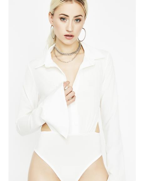 Pay It Forward Collared Bodysuit