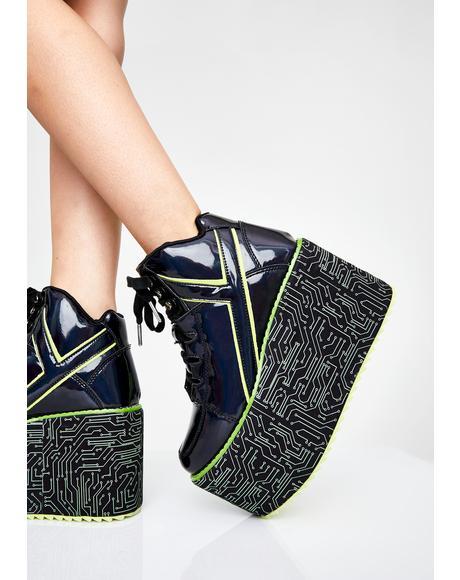x Cyberdog Qozmo Platform Sneakers