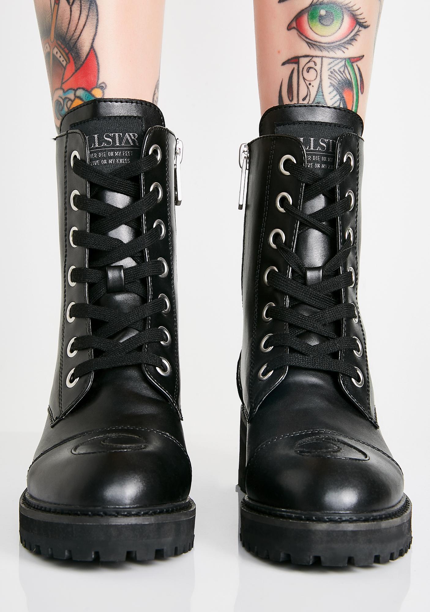 Killstar Not Phased Combat Boots