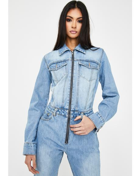 Betta Werk Bish Denim Jumpsuit