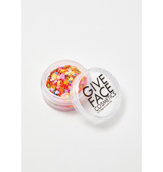 Give Face Cosmetics Sigma Star Poly Shapes UV Reactive Glitter