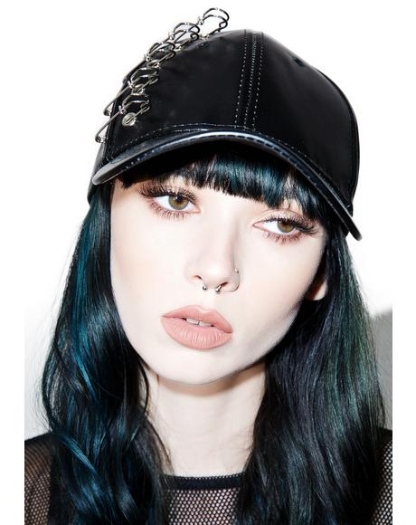 In Memoriam Vegan Leather Hat