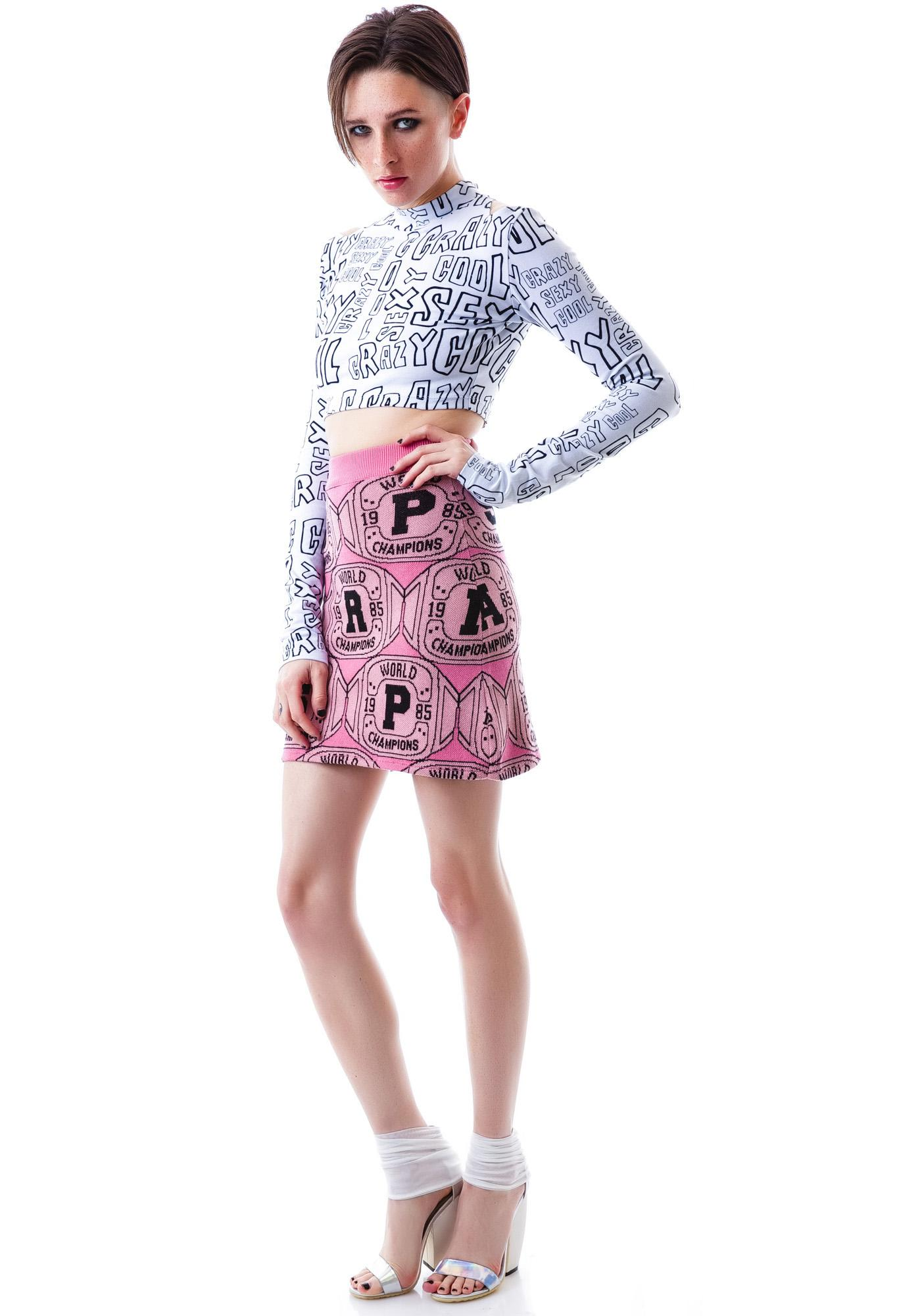 Joyrich Paris Champ Knit Skirt