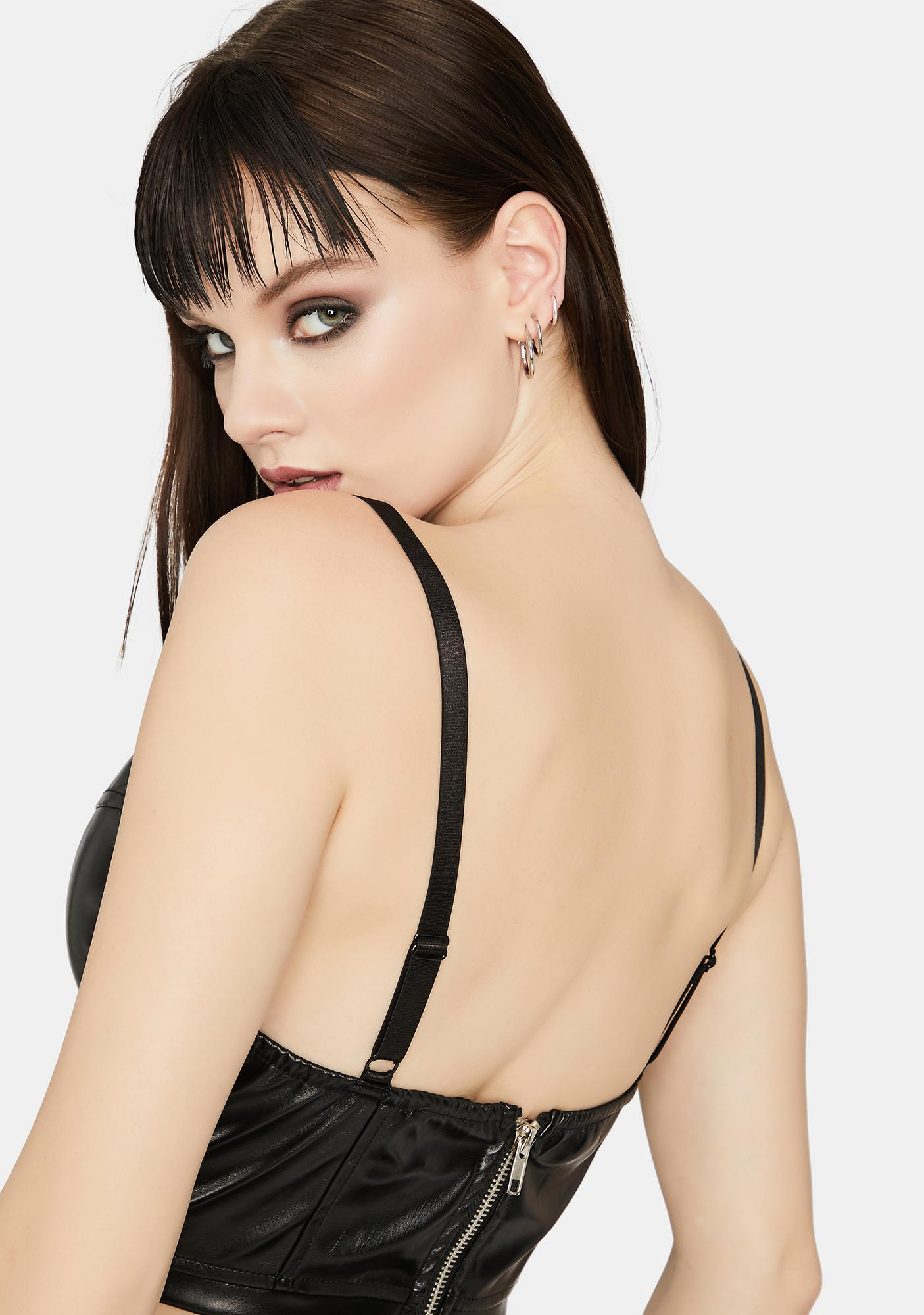Onyx Miss Hot Shot Corset Tank