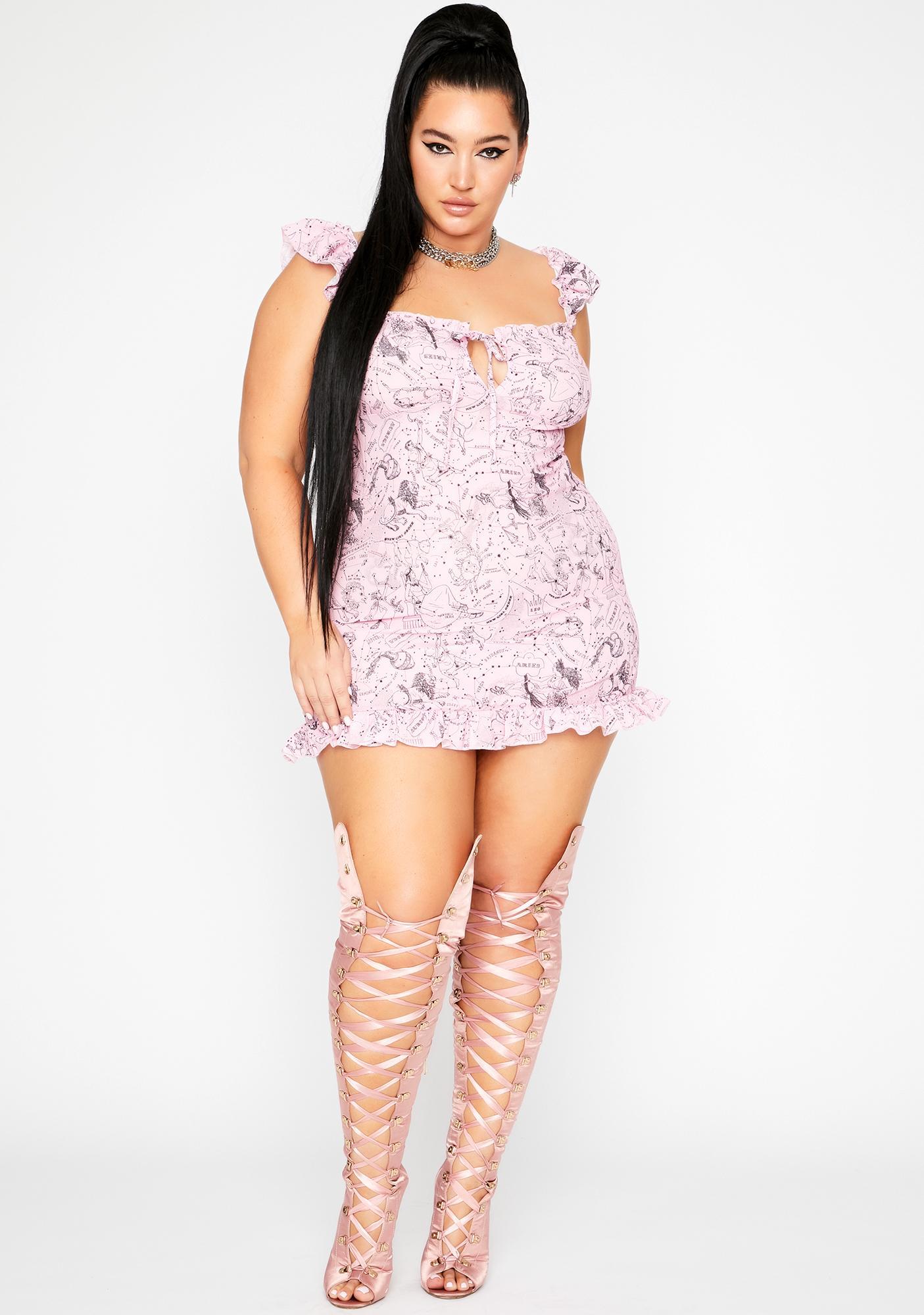 NEW GIRL ORDER Cute Constellation Dress