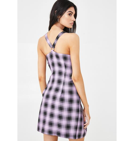 The Ragged Priest Strict Checkered Dress