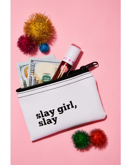 Slay Girl Slay Vinyl Pouch