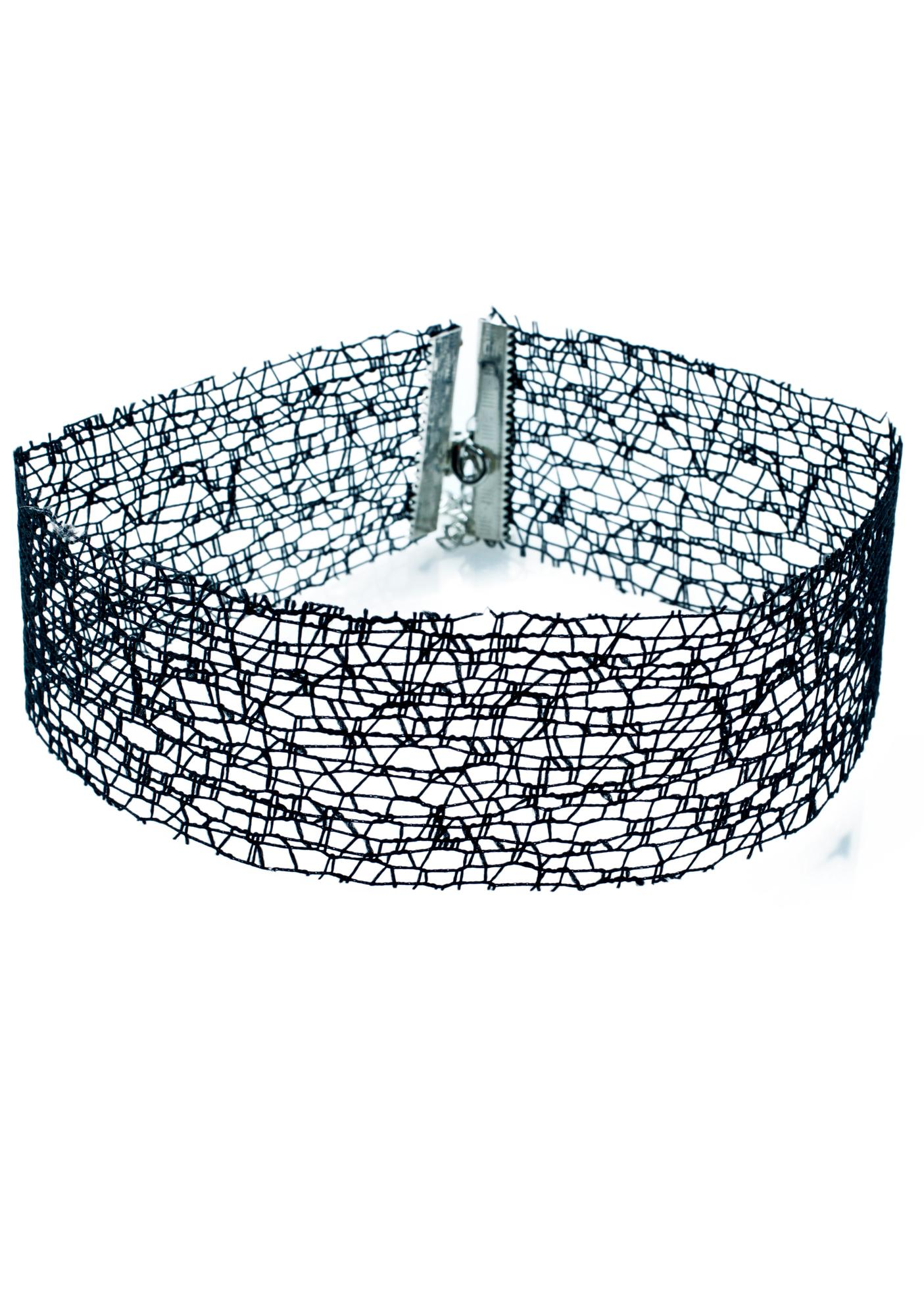 Hot Wire Lace Choker