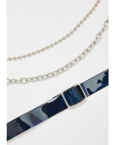 Space Monster Choker Set