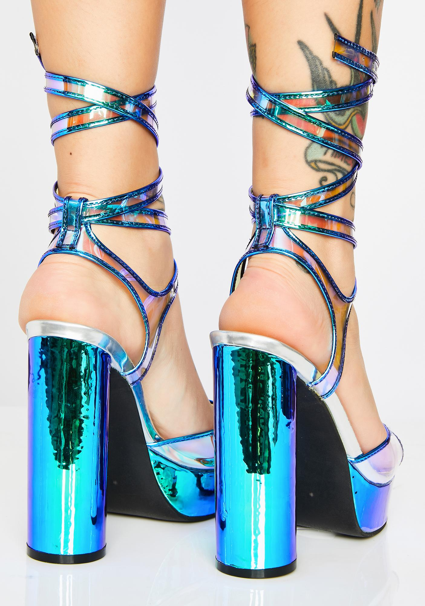 Poster Grl Oh You Fancy Huh Hologram Heels