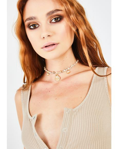 Tide's Treasure Shell Choker