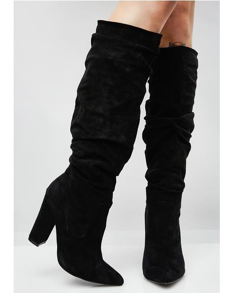 Beautiful Liar Scrunch Boots